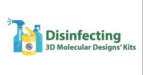 Tips on disinfecting your 3DMD materials.
